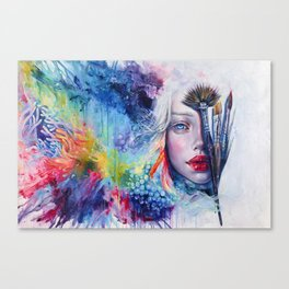 Coralized Canvas Print