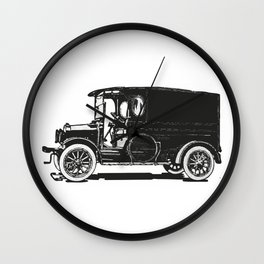 Old car 7 Wall Clock