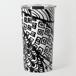 Zen Flower Travel Mug