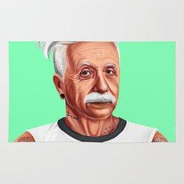 Hipstory -  Albert Einstein Rug