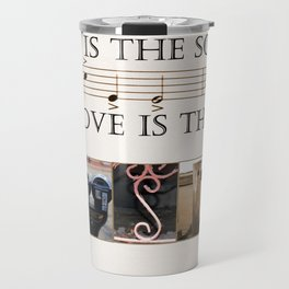 Love of Music Travel Mug