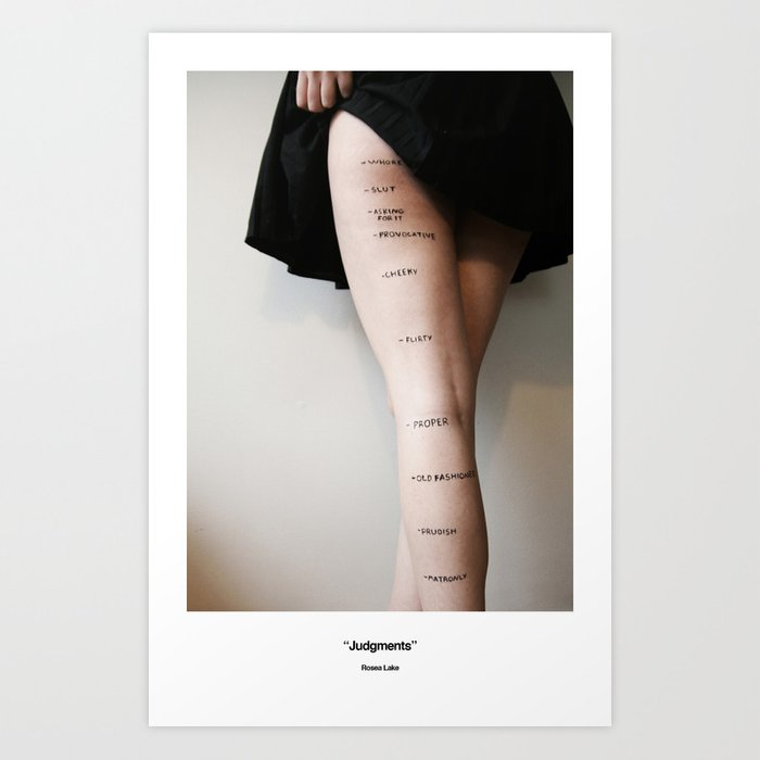 Judgments Art Print