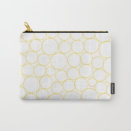 Circled in Gold Carry-All Pouch