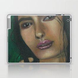 Lady in Green Laptop & iPad Skin