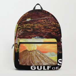 Vesuvius and the Gulf of Naples Backpack