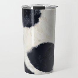 Cow Skin Travel Mug