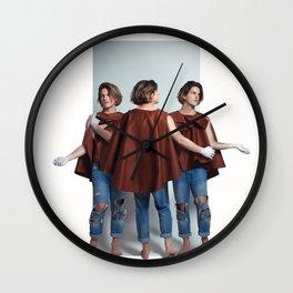 Orphic / The three Graces Wall Clock