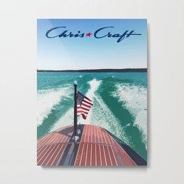 Chris Craft Boating Metal Print