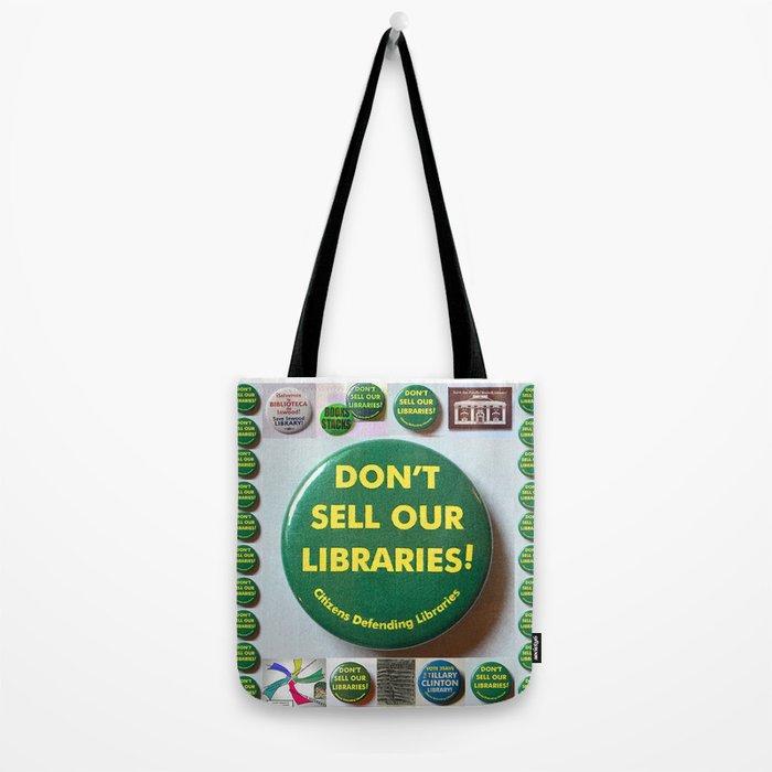 Citizens Defending Libraries Tote Bag Art Tote Bag