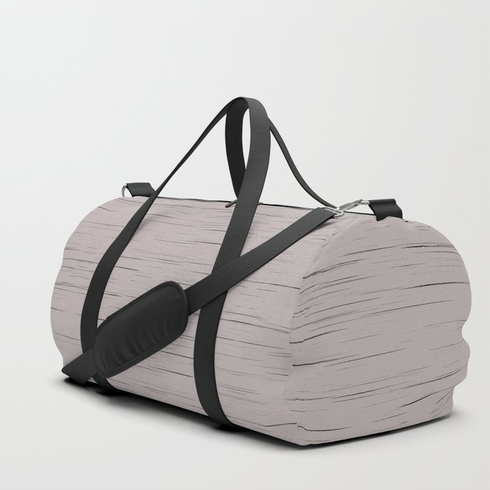 Meteor Stripes - Taupe Duffle Bag
