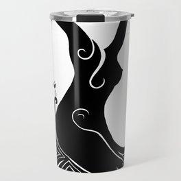 Daphne (en noir) Travel Mug