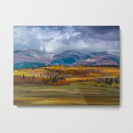 Fall in the Rockies Metal Print
