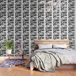 F*ck elvis! Lemmy is King! Wallpaper