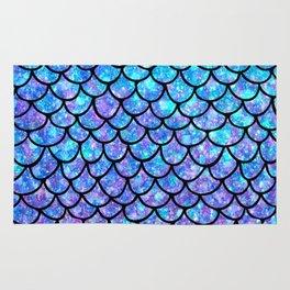 Purples & Blues Mermaid scales Rug