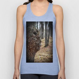 Face in Tree ~ What You See  Unisex Tank Top