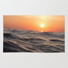 Sunset Wave Rug