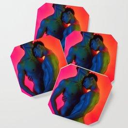 Vibrant Love Coaster