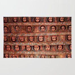 The Angels of Debre Birhan Selassie Church Rug