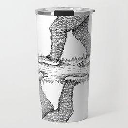 Sad-squatch Travel Mug