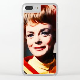 June Lockhart, Vintage Actress Clear iPhone Case
