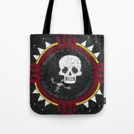 Zia Skeleton Tote Bag