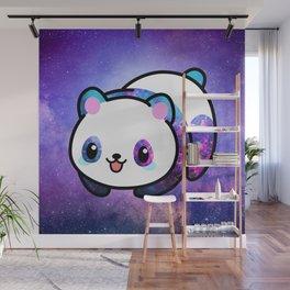 Kawaii Galactic Mighty Panda Wall Mural