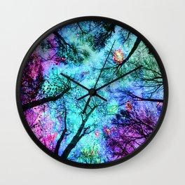fantasy sky Wall Clock