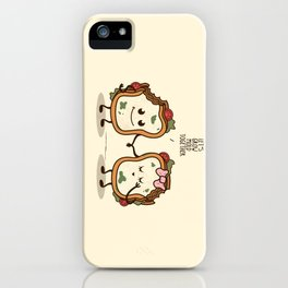 Let's Grow Mold Together iPhone Case