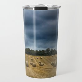straw bales Travel Mug