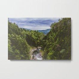Vermont Mountains Metal Print