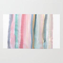Watercolor stripe Rug