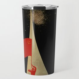 all the way up to the stars - soviet union propaganda Travel Mug