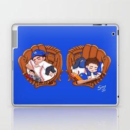 Chibi Baseball Mets Dylan O'Brien Laptop & iPad Skin