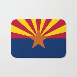 Arizona: Arizona State Flag Bath Mat