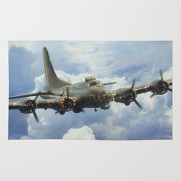 B17 Flying Fortress Rug