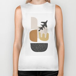 Abstract Shapes  2 Biker Tank