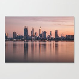 Perth City Sunrise Canvas Print