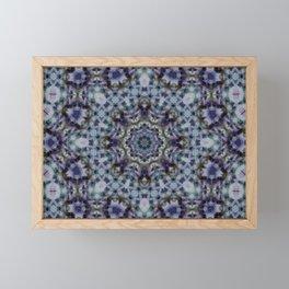 Oriental flavor , folklore , carpet Framed Mini Art Print