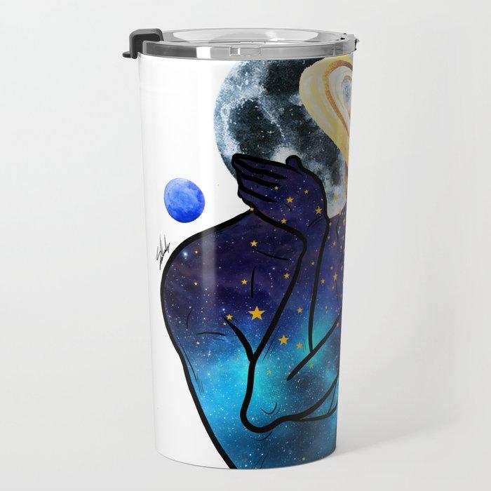 Planets love. Travel Mug