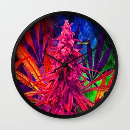 WetPaint420, Hot Pink Kola Wall Clock