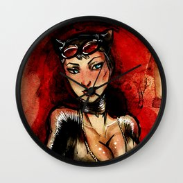 Catwoman's Bust(y) Wall Clock