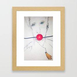 gag me Framed Art Print