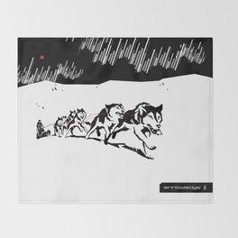 sknowledge // (husky team) Throw Blanket