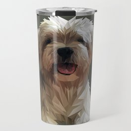 Shih tzu Low Poly Travel Mug
