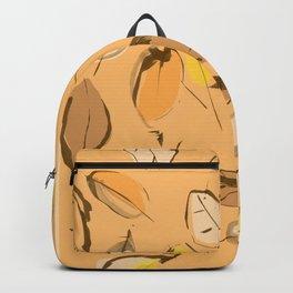 Arbutus leaves Backpack