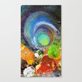 Controlled Chaos Canvas Print