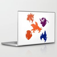 foo fighters Laptop & iPad Skins featuring Z Fighters by luvusagi