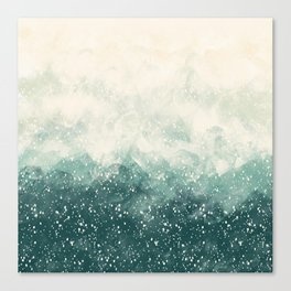 Snowy Summer Canvas Print