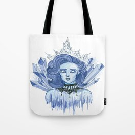 Queen of ice Tote Bag