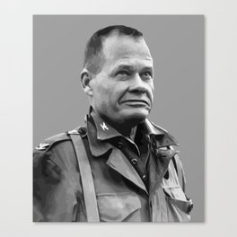 """General Lewis """"Chesty"""" Puller Canvas Print"""
